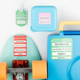 Emergency Contact Labels
